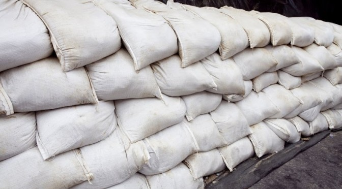 Where to find Sandbags in Santa Clara County